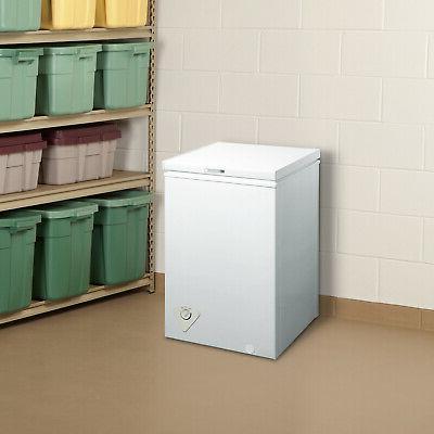 Deep Freezer Storage Quick Defrost 3.5 White
