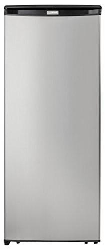 Danby Designer cu. Upright Stainless Steel
