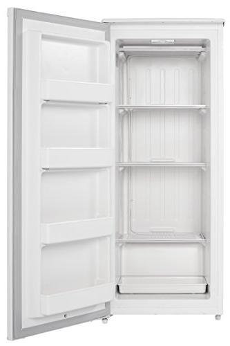 Danby 8.5 cu ft Upright Freezer, White