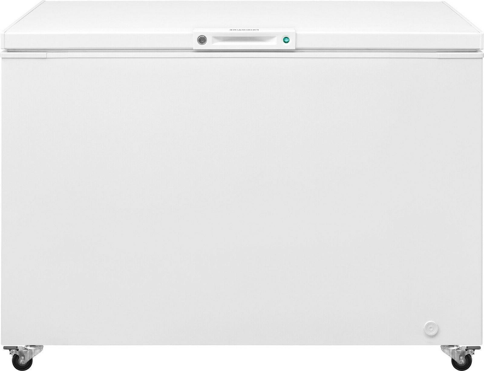 "Large 12.8 50"" Wide Chest Freezer w/LED Light Free Shipping"