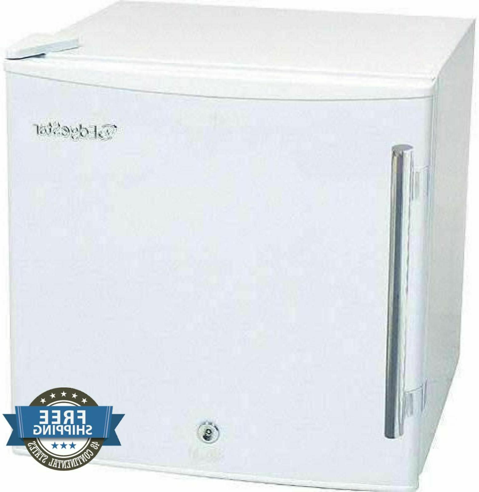 EdgeStar 1.1 Cu. Ft. Medical Freezer with Lock - White