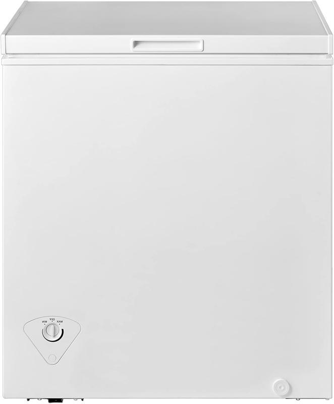 midea MRC050S0AWW Chest Freezer, 5.0 Cubic Feet, White