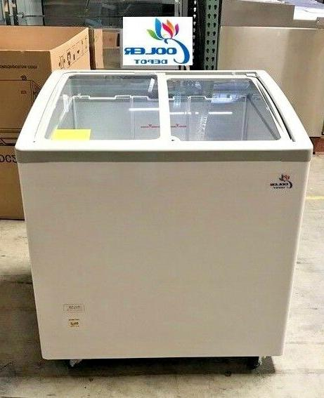 new 31 ice cream glass dipping freezer