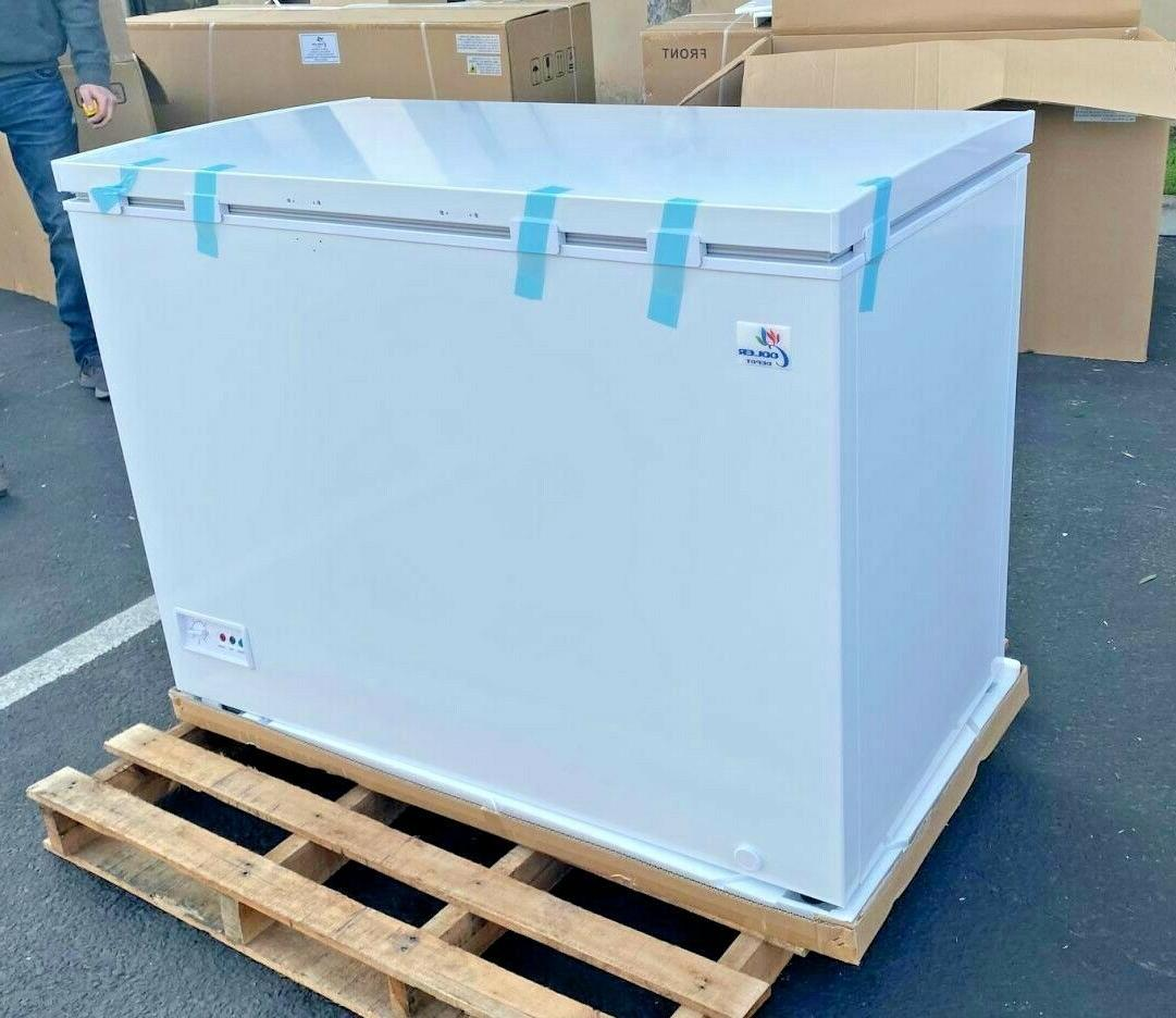 "NEW 44"" Solid Lock Chest Freezer Cabinet ETL XF-302"