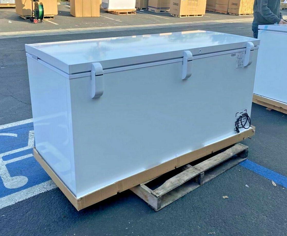 "NEW 65"" Solid Lock Freezer Cabinet NSF ETL XF-562"