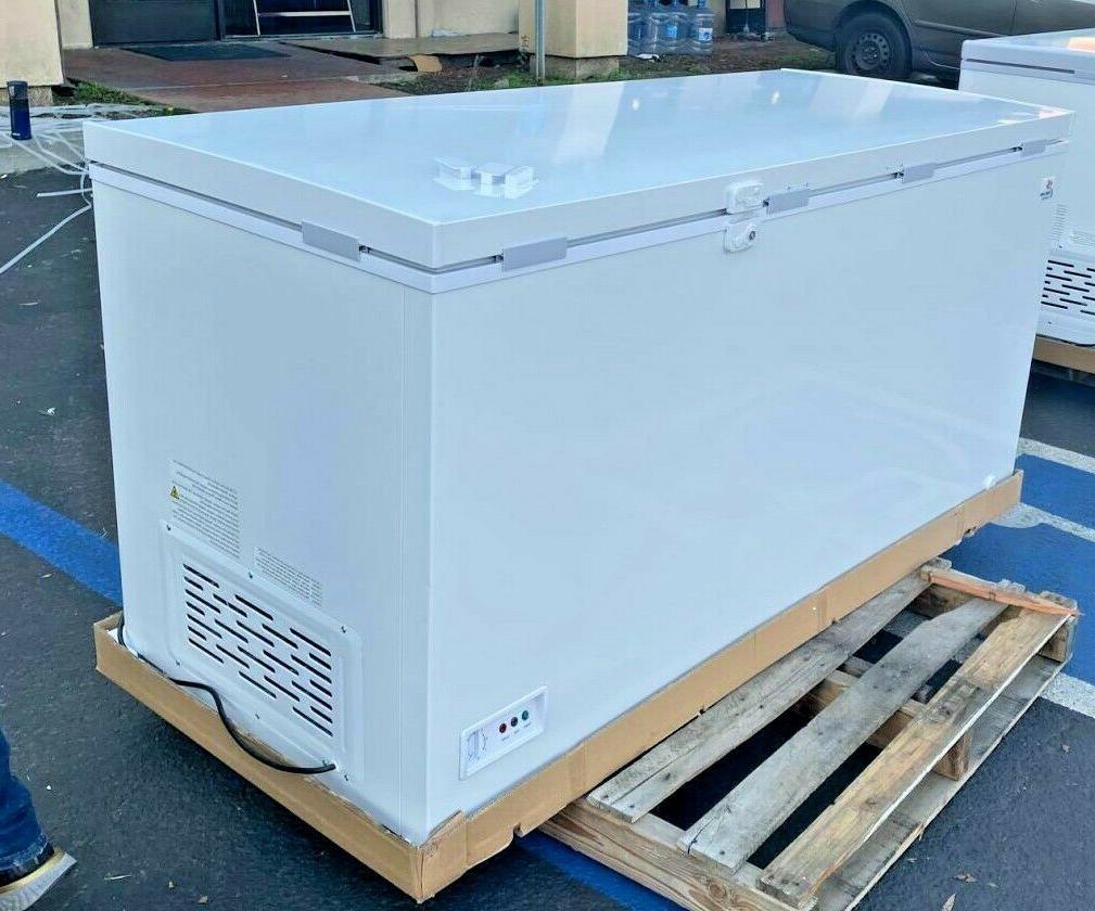 "NEW 65"" Lock Chest Freezer Cabinet NSF XF-562"