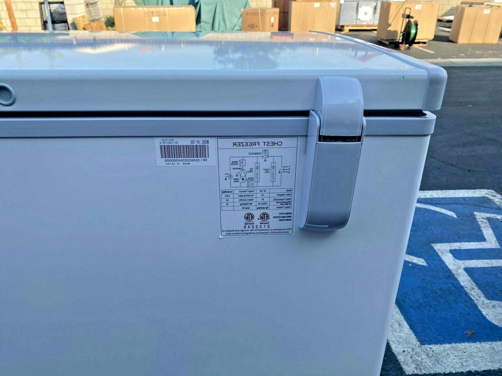 NEW Lock Chest Freezer Cabinet NSF XF-750
