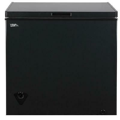 Chest Freezer King 7 Removable Black