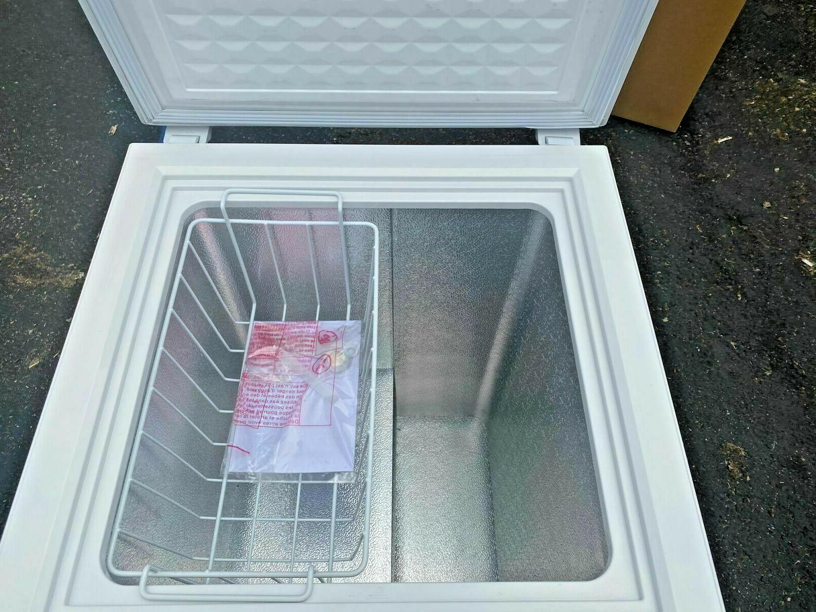 NEW Top Chest Freezer Storage Cabinet NSF 3.5 Cu -- Free Home
