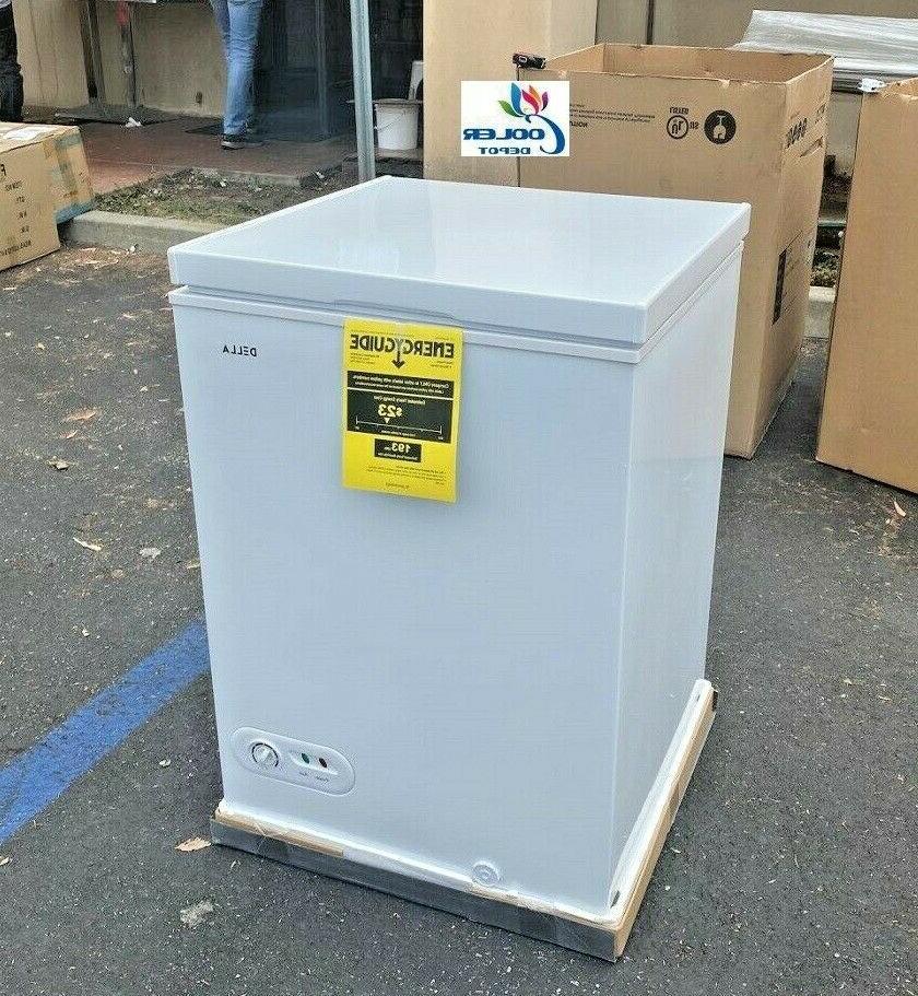 new solid top chest freezer storage cabinet