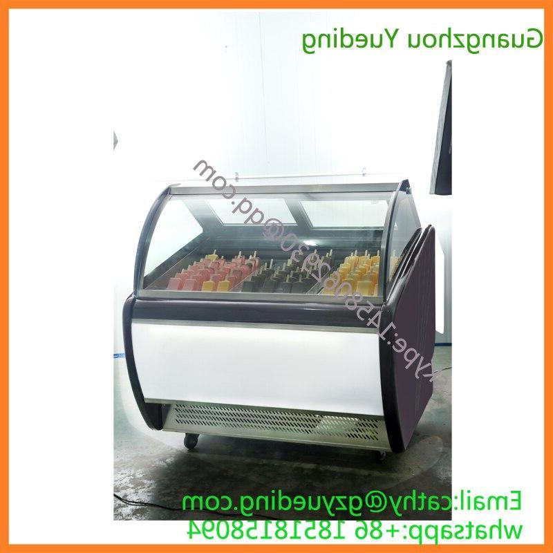 Popsicles Display <font><b>Freezer</b></font>,