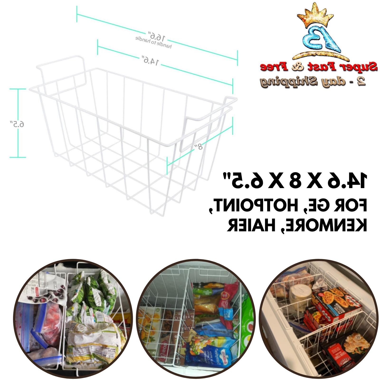 Refrigerator Freezer Basket For Hotpoint Kenmore Haier GE Re