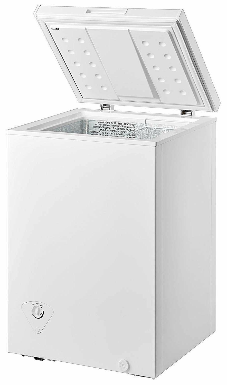 single door chest freezer 3 5 cubic