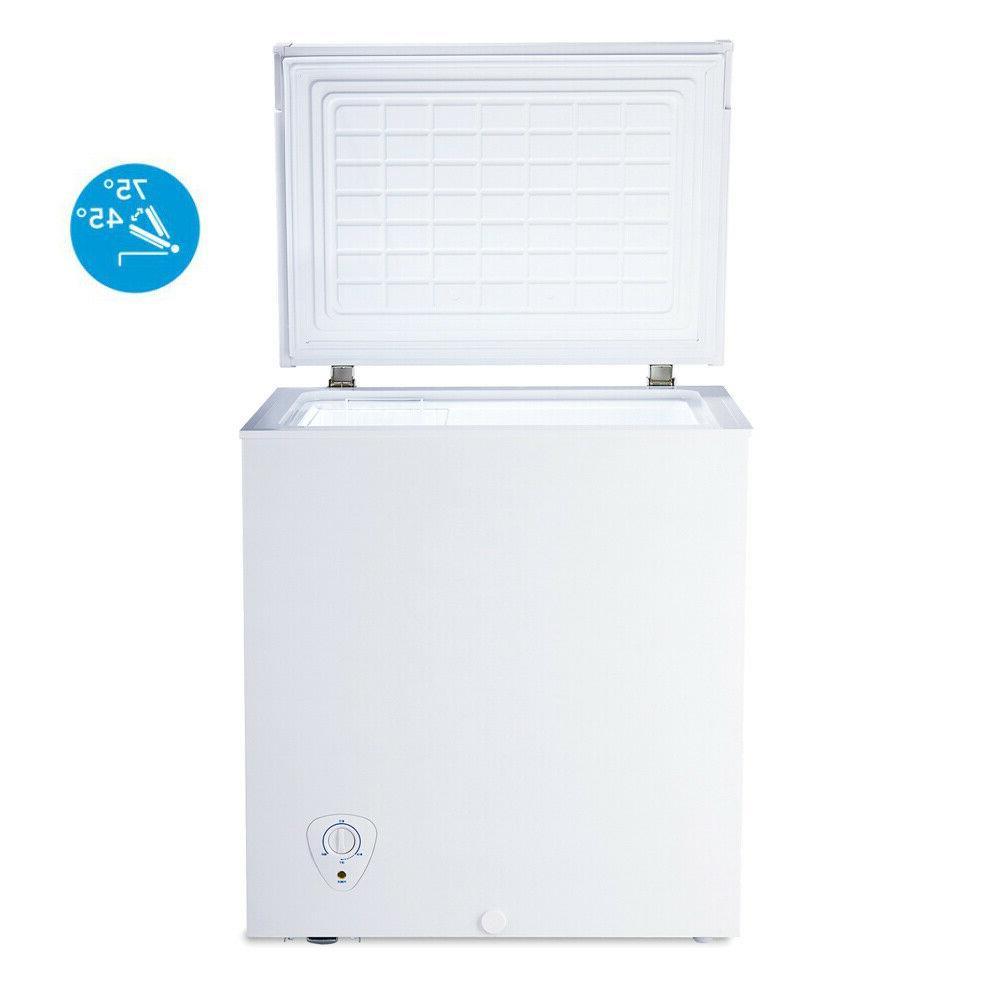 Smad 5.0 cu.ft Chest Freezer Garage Kitchen Energy-saving  W