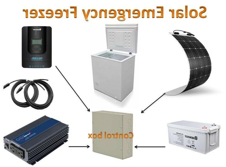 solar chest freezer 5 0 cu ft