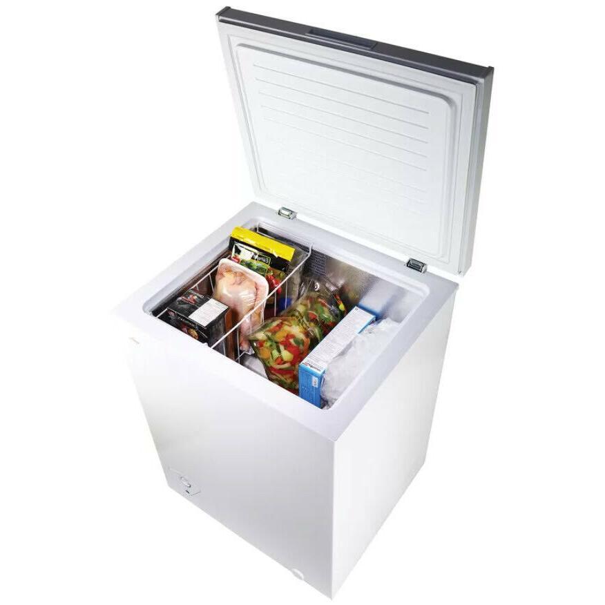 upright chest freezer small mini compact 3