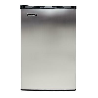 upright freezer deep apartment stainless