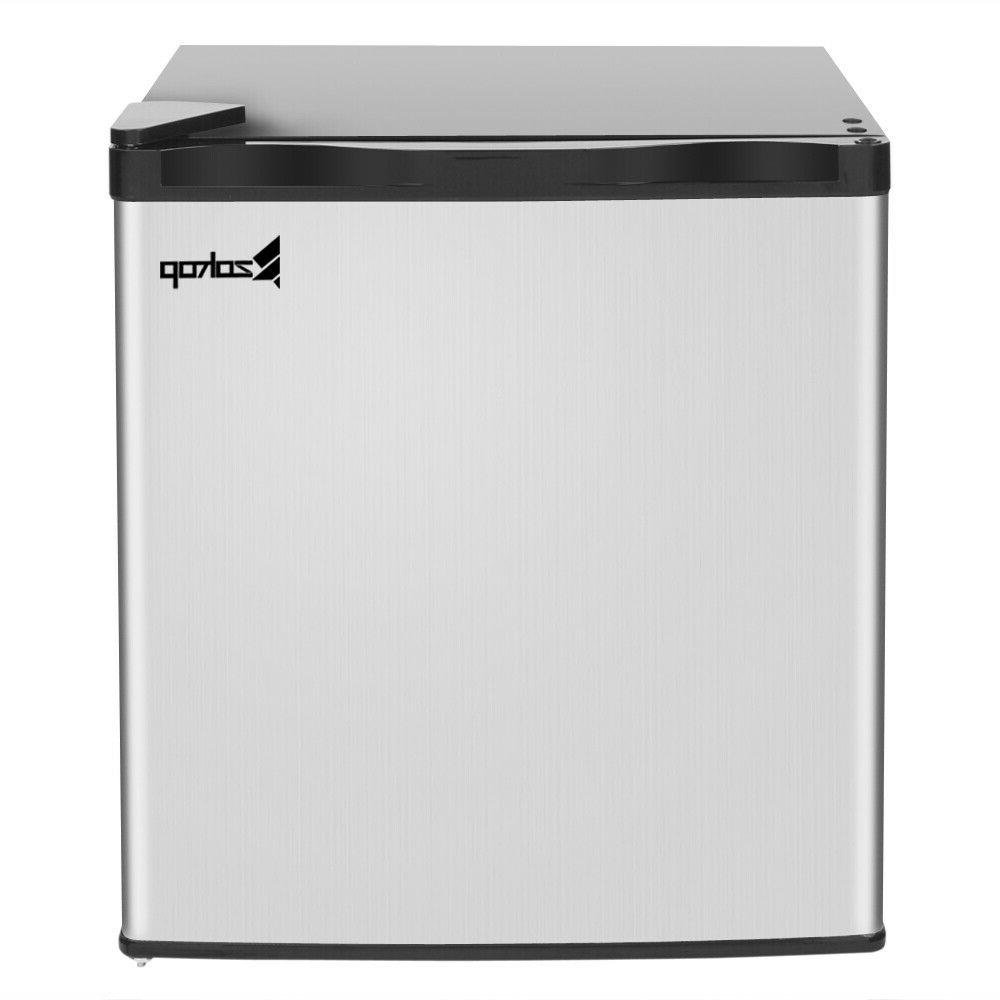 Upright Freezer Refrigerator Frozen Cold Shelf Stainlesssteel