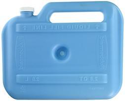 Rubbermaid Marine Ice Chest / Cooler, Blue, Iceolater Reusab