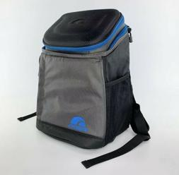 Igloo MaxCold Maxpack 18 Can Backpack Cooler - Black Gray