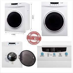 Magic Chef MCSDRY35W 3.5 cu. ft. Laundry Dryer, White