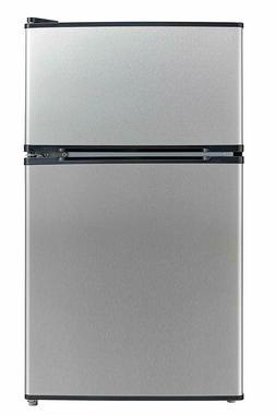 Midea WHD 113FSS1 Stainless Steel Refrigerator Freezer Warra
