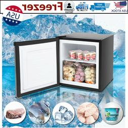 Mini Fridge Freezer Compact Refrigerator Dorm Chiller Cold S