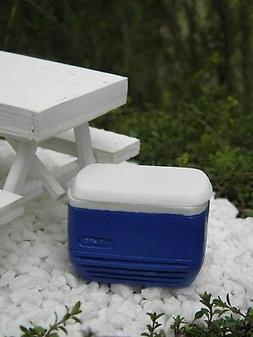 Miniature Dollhouse FAIRY GARDEN Accessories ~ Blue Igloo Co