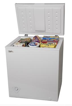 NEW 5.0 Cu Ft Chest Freezer - Pickup Only & Cash Only