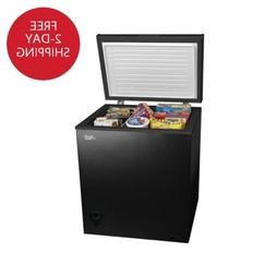 NEW Arctic King 5 cu ft Chest Freezer - Black FREE SHIPPING