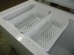"Get **2** New Frigidaire 24-1/2"" Baskets for your freezer pl"