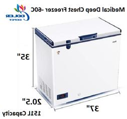 NEW Haier Medical Lab Hospital Deep Chest Freezer -60°C Low