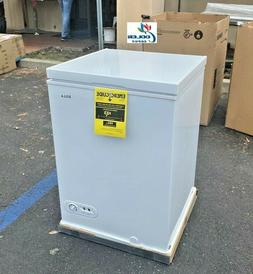 NEW Solid Top Chest Freezer Storage Cabinet NSF 3.5 Cu Ft --