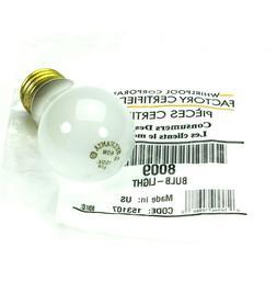 OEM Whirlpool 8009 WP8009 40 Watt Appliance Light Bulb AP360