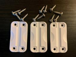Official IGLOO COOLER Replacement Parts Hinges Set of  w/Scr
