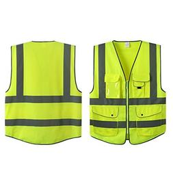 G & F Products Reflective Vest Safety Vest High Visibility w