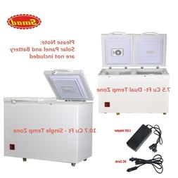 SMAD Solar & Electric 2-Way Chest Freezer 12V 24V DC AC Frid