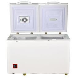Smad 7.5 Cu.ft Solar Energy DC Refrigerator/Freezer Double D