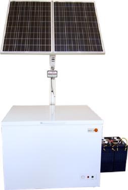 Solar-Powered SunStar $$$ & Energy-saving Chest Freezer OR F
