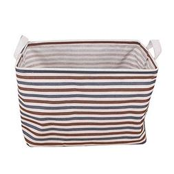 SSYUNO Waterproof Canvas Laundry Clothes Printed Basket Stor
