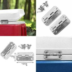 Stainless Steel Replacement Cooler Hinges For Igloo Style Ic