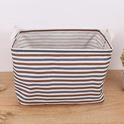 GOVOW Storage Bins Basket Cubes Organizer Boxes Containers D