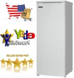"""Thomson Upright Freezer 6.5 cu ft 55"""" Tall Frozen Food Stora"""