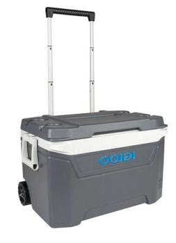 Igloo Traveler 60-Qt. Rolling Ice Chest Cooler With Wheels C