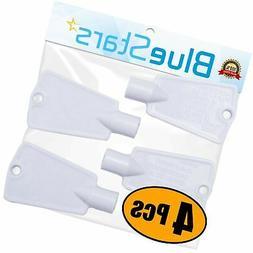 BlueStars 297147700 Freezer Door Key Replacement part - PACK