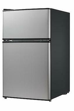 Midea WHD-113FSS1 Refrigerator/Freezer 3.10 ft³ Manual Defr