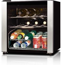 whs 64w 16 bottle wine cooler stainless